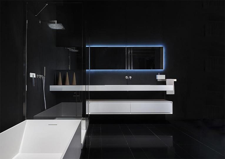waschbecken aus corian f r das bad design bath kitchen. Black Bedroom Furniture Sets. Home Design Ideas
