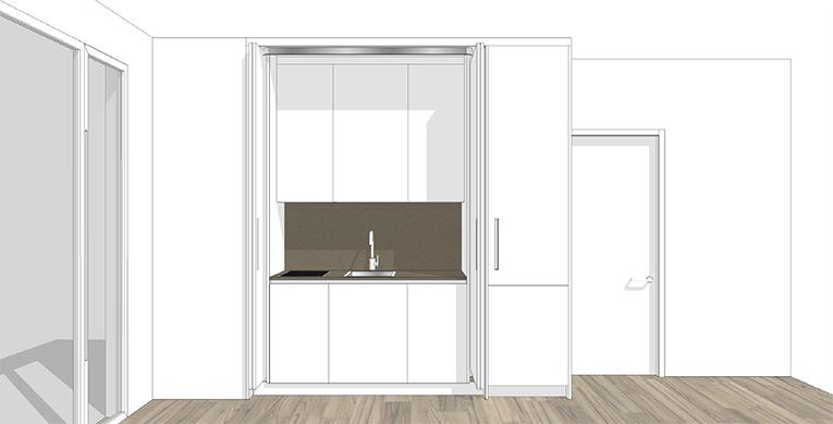 des cuisines design pour petits espaces c est possible design bath kitchen blog. Black Bedroom Furniture Sets. Home Design Ideas