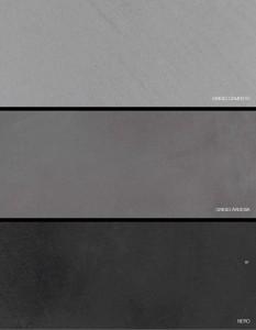 grigio cemento grigio ardesia  nero