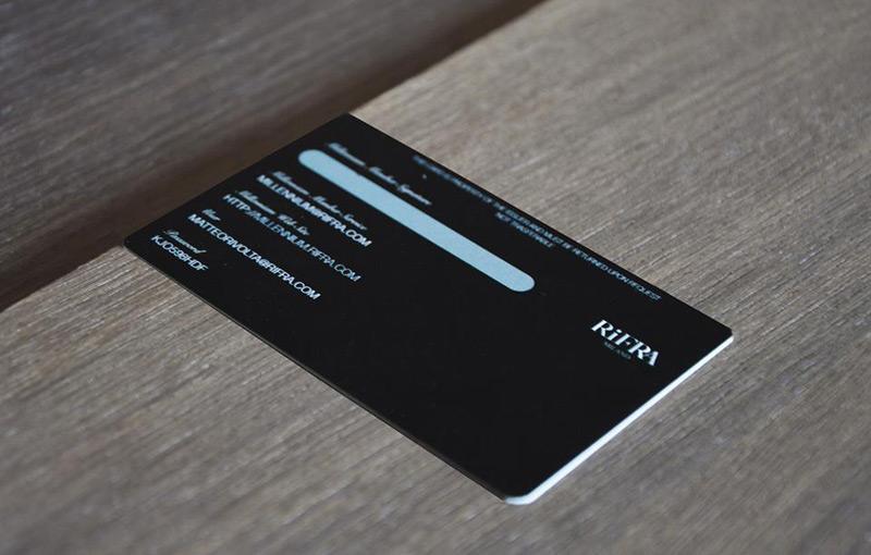 RiFRA millennium card
