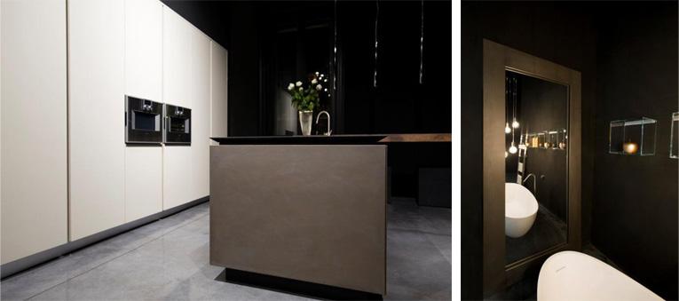 RiFRA Cucine e bagni con nuove finiture in metallo 02-03