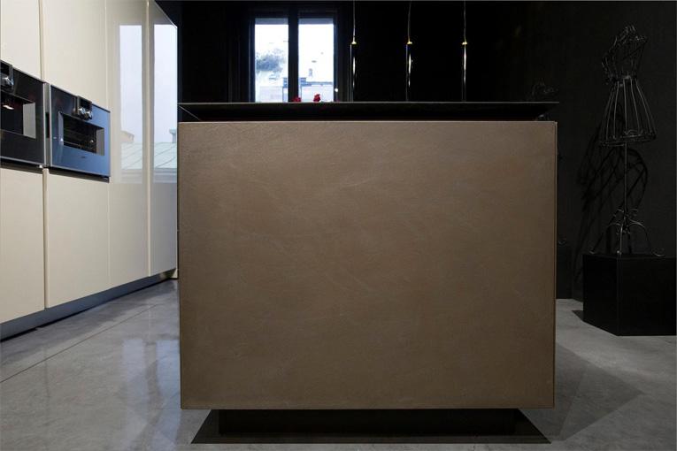 RiFRA Cucine e bagni con nuove finiture in metallo 04
