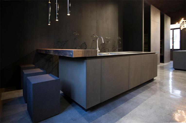 RiFRA Cucine e bagni con nuove finiture in metallo 07