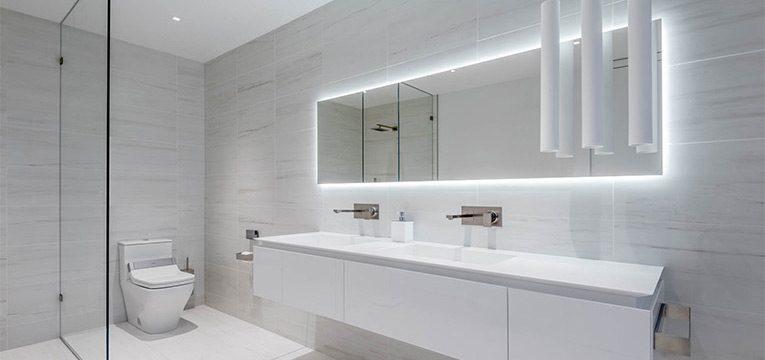 Nouvelle construction d 39 une salle de bains design des for Blog di design