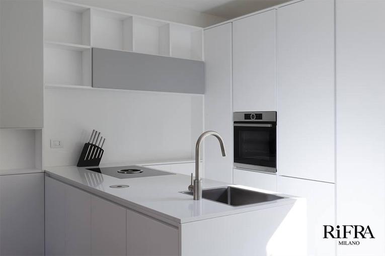 Apartment in Italy with RiFRA Milano Kitchen | Design Bath & Kitchen ...