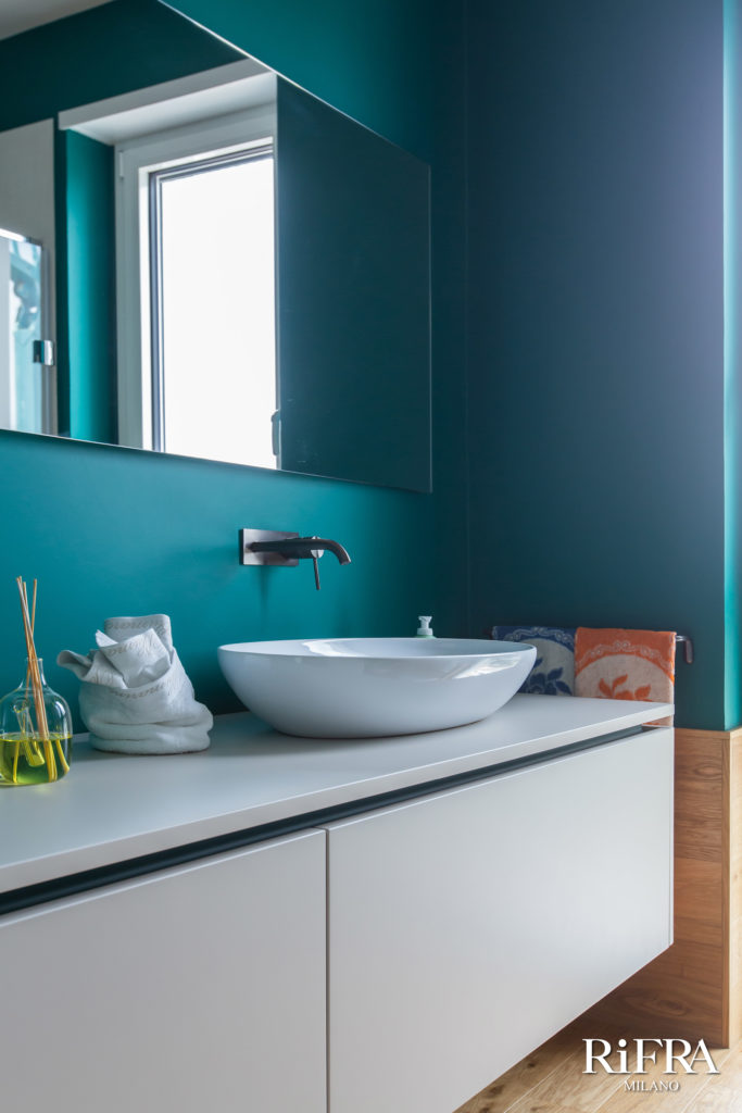 Bathroom K.LINE RiFRA collections. RiFRA Kitchens and bathrooms directly from Milan