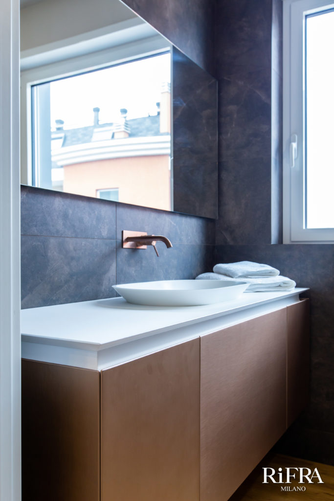 Bathroom K.FLY RiFRA collections. RiFRA Kitchens and bathrooms directly from Milan